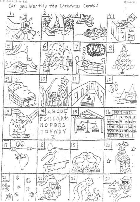 best christmas puzzles and answers 12 best images of carol worksheet answers song puzzle answers