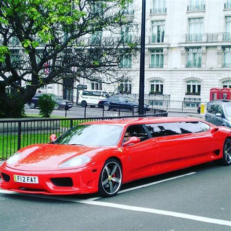 It was spotted a few days before christmas by shoppers in upmarket knightsbridge, london where it took up. Ferrari limo | Limo, Ferrari, Amazing cars