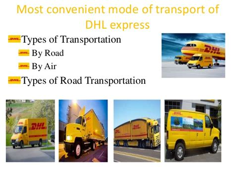 supply chain management  dhl express operations