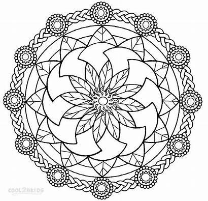 Mandala Coloring Printable Pages Cool Sheets Mandalas