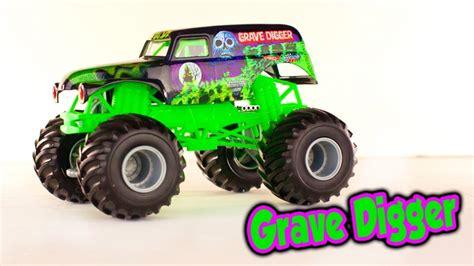 grave digger monster truck videos youtube grave digger monster truck toy toys for prefer