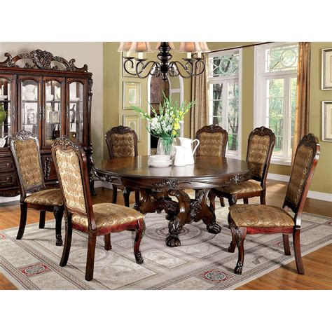 furniture  america evangeline elegant  piece