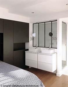 carrelage salle de bain marron et vert With amenager une salle de bain dans une chambre