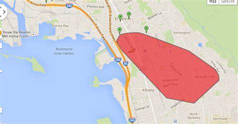 update pge outage  north berkeley el cerrito