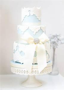 22 Elegant Wedding Cakes with Beautiful Details Deer Pearl Flowers