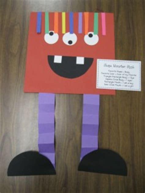 shapes craft idea  kids crafts  worksheets