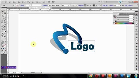 how to design a logo how to create 3d logo in adobe illustrator tutorial