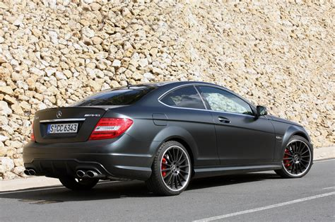 It still has to snow for a while if this mercedes cannot get away. DCGoldCA: 2012 Mercedes-Benz AMG C63 Matte Black