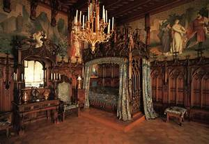 Old Castle Bedroom Furniture Set Design and Decor Ideas