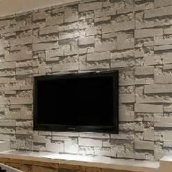 steinwand wohnzimmer led 3 kaufen großhandel grau ziegel tapete aus china grau ziegel tapete großhändler aliexpress