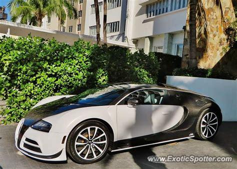 Miami lusso offer exotic car rental across florida. Bugatti Veyron spotted in Miami, Florida on 12/06/2014
