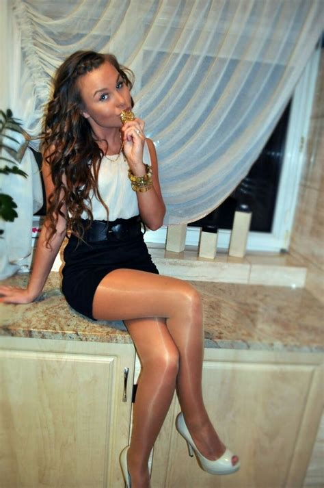 Best Glossy Pantyhose Images On Pinterest Pantyhose
