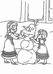 Ausmalbilder Eisknigin Elsa Und Anna Kostenlos Lustige