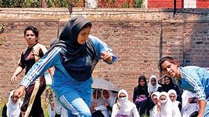 Wearing the Hijab and playing football in Kashmir