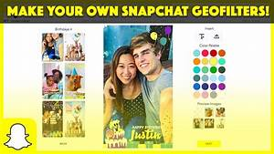 How to make a snapchat geofilter online without photoshop youtube for How to make a geofilter without photoshop