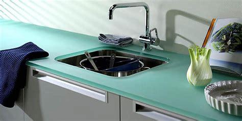 plan de travail cuisine en verre comment choisir plan de travail de cuisine viving