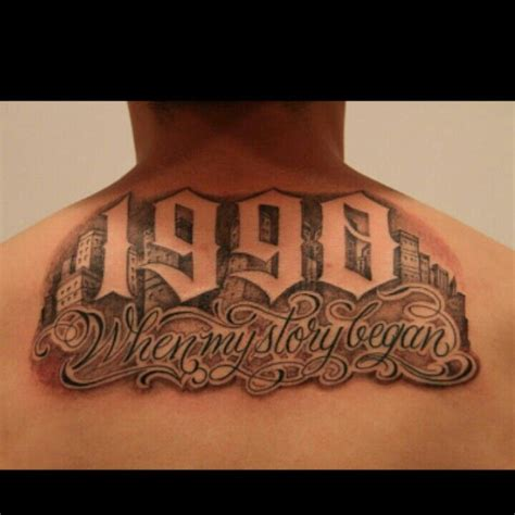 est tattoos  men improb
