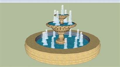 Water Fountain Spouts Tiered