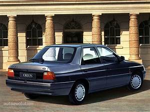 Ford Orion Specs - 1990  1991  1992  1993