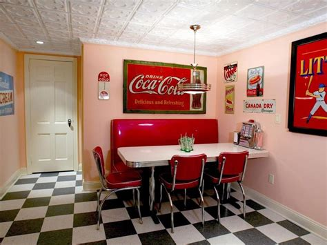 Decorating Ideas Kitchen Diner by 47 Best Images About 50s Diner Kitchens On