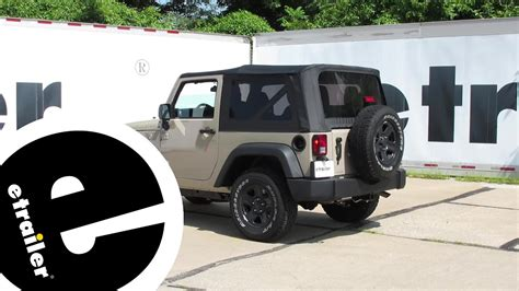 Trailer Wiring Harness Installation Jeep Wrangler