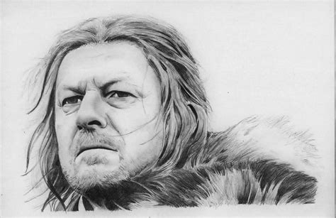 Ned Stark Game Of Thrones By Borjich.deviantart.com On