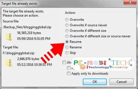Filezilla Resume Failed by How To Resume Interrupted Upload In Filezilla