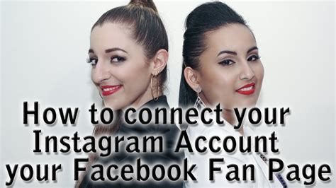 how to make a fan page on instagram how to connect your instagram account to your facebook fan