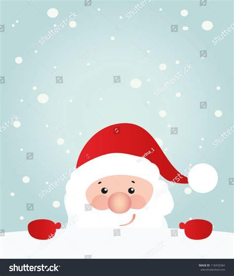 Santa Claus Card By Benchart Vectors Eps Retro Styled Card Santa Claus Stock Vector