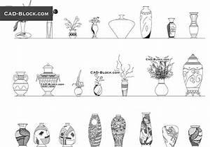 Vases CAD Blocks Free Download
