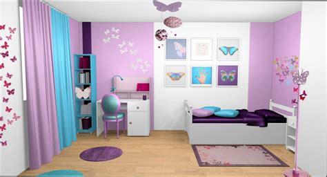 chambre fille chambre fille couleur mauve