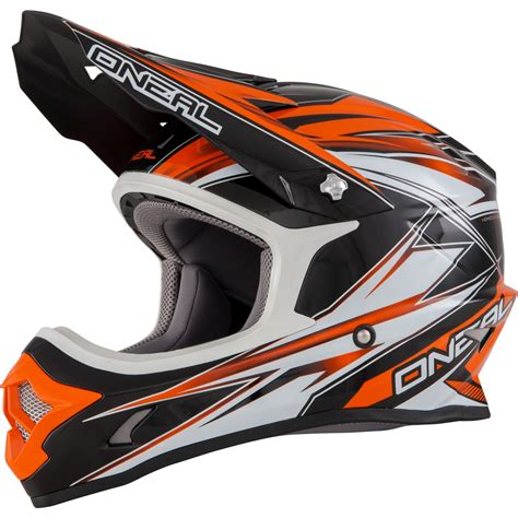 oneal motocross helmets oneal 3 series hurricane enduro mx moto x dirt bike