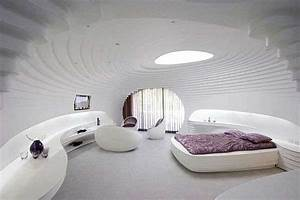 Futuristic Igloos : resort, hotel, winter, white, room