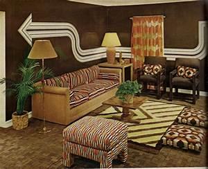 Living room inspiration 60s 70s tickle me vintage for 1970 interior design ideas