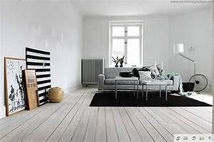 Black, And, White, Living, Room