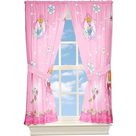 disney princess curtains disney princess quot dainty princess quot microfiber curtain