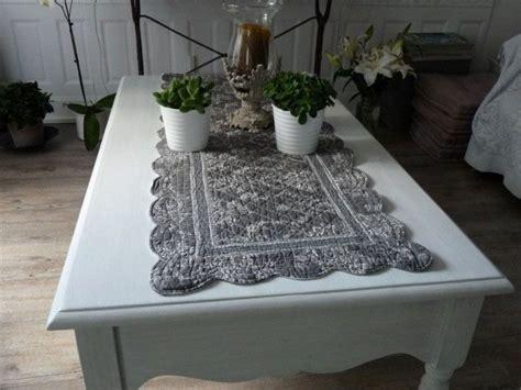 chemin de table boutis toile de jouy chemin de table en boutis 100 coton r 233 versible avec un