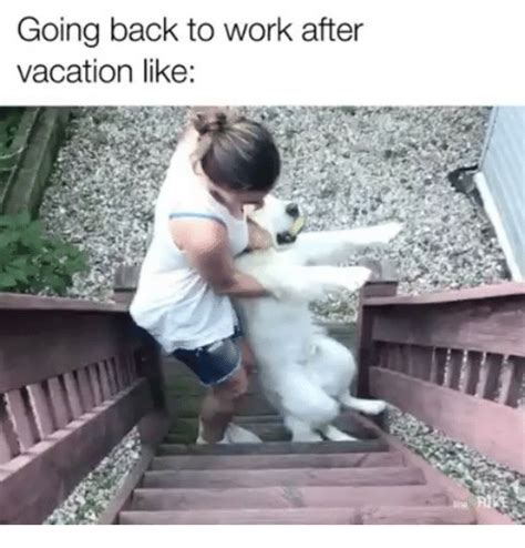 Going Back To Work Meme - going back to work after vacation like meme on me me