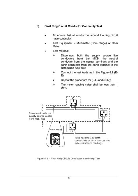 test l circuit guidelines for electrical wiring in residential buildings