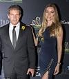 Antonio Banderas and new girlfriend Nicole Kimpel in his ...