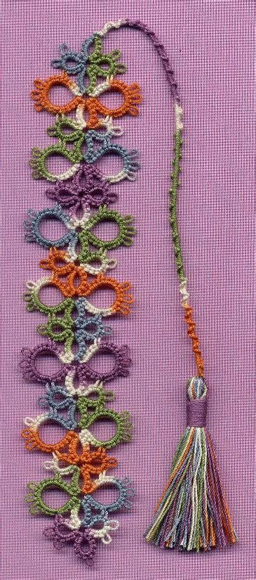 tatting beading  needlework motif