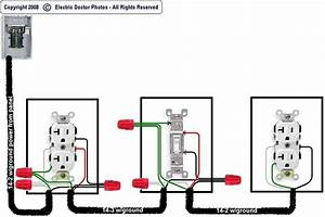 I Want To Wire The Following Diagram  From Source -to Switched Receptacle -to Switch