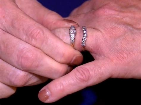 ny sanitation crew finds woman s lost wedding rings after