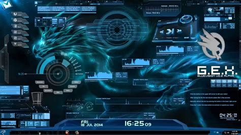 Rainmeter Animated Wallpaper - best rainmeter skin