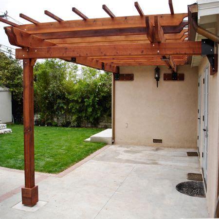 Einfache Pergola Bauen by Simple Practical Inexpensive Affordable Pergola Patio