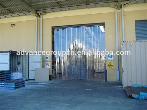 pvc plastic curtain widely use for cold storage warehouse
