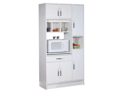 meuble de cuisine chez conforama buffet de cuisine nanny coloris blanc chez conforama