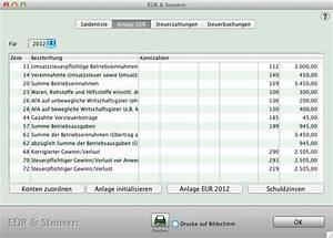 Einnahmen überschuss Rechnung Beispiel : buchf hrung f r den mac einnahmen berschussrechnung ~ Themetempest.com Abrechnung