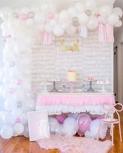 Idée Bapteme Fille : d coration de bapteme pour fille pour un buffet dessert ~ Preciouscoupons.com Idées de Décoration