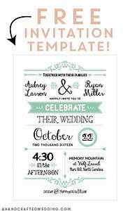 free printable wedding invitation template free With free printable customized wedding invitations